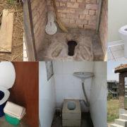 different types of latrines